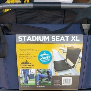 CASCADE... XL STADIUM SEAT!!